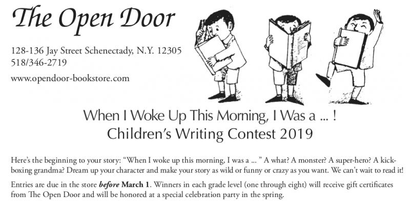 Open Door Writing Contest 2019 | The Open Door Bookstore